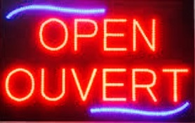open ouvert